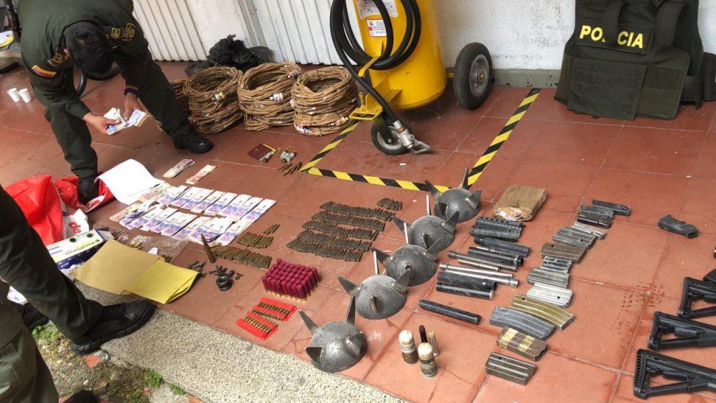 Desarticulada estructura criminal dedicada al tráfico de armas traídas desde Estados Unidos, para proveer a grupos armados ilegales en Colombia
