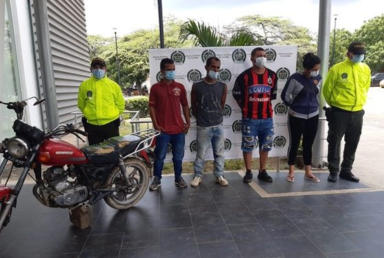 Desarticulado grupo delincuencial Los Maracuchos, dedicados al hurto de motocicletas en Cúcuta