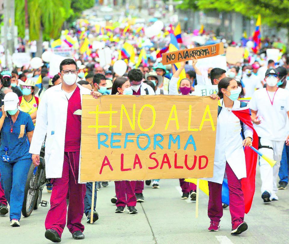 Día clave para el proyecto de la reforma a la salud-2021 | Colombia | Economía