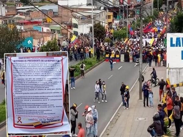 Docentes desde Nariño ratifican que continuarán con el Paro Nacional