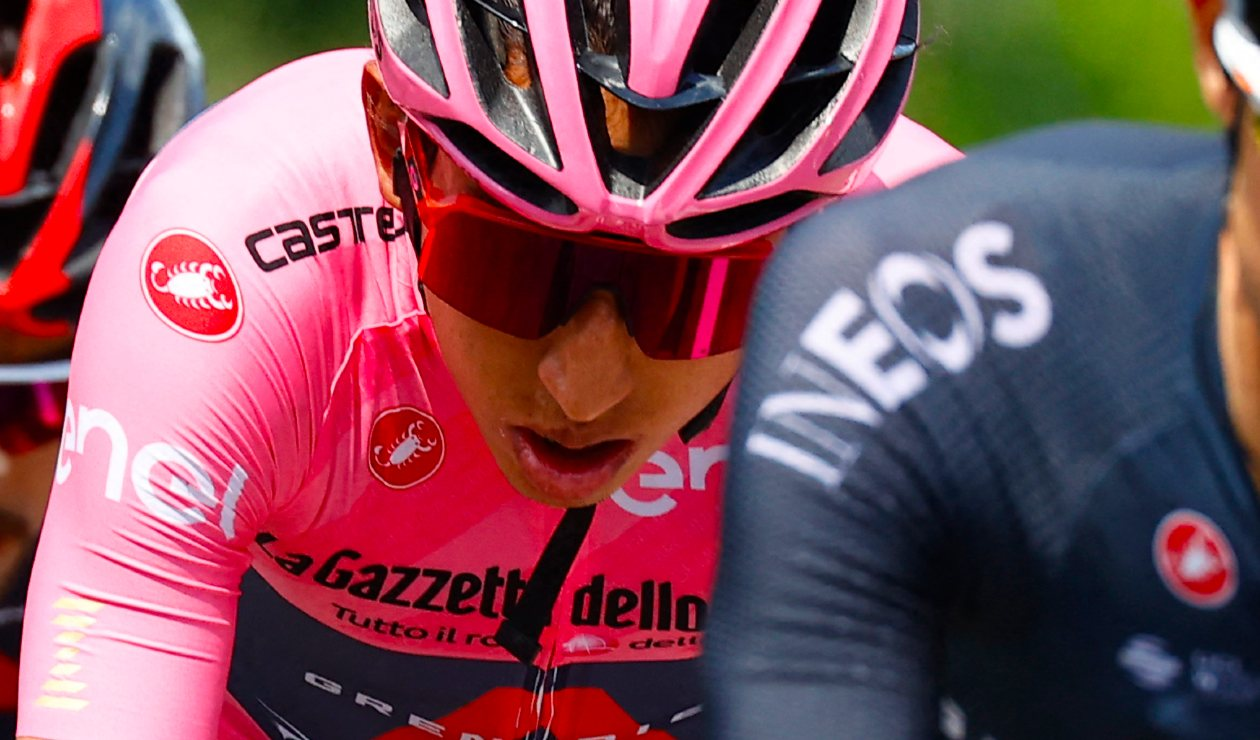 """Egan Bernal Giro de Italia 2021: """"me siento en condiciones"""""""