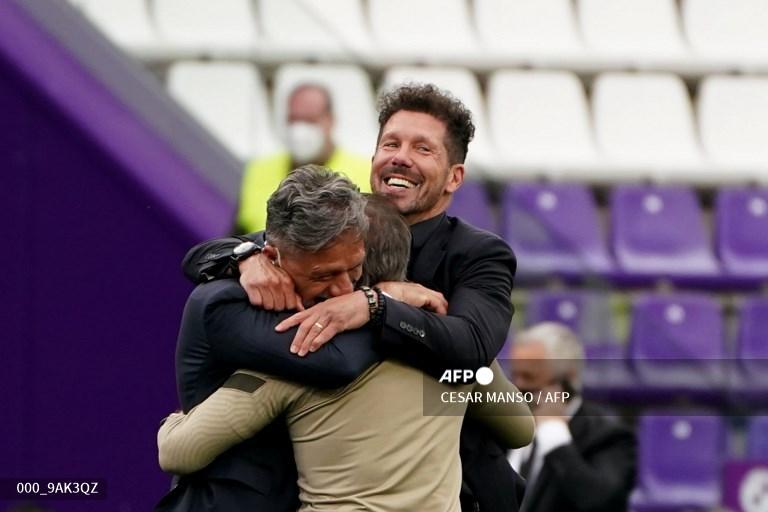 El Cholo Simeone, una década prodigiosa en el Atlético de Madrid