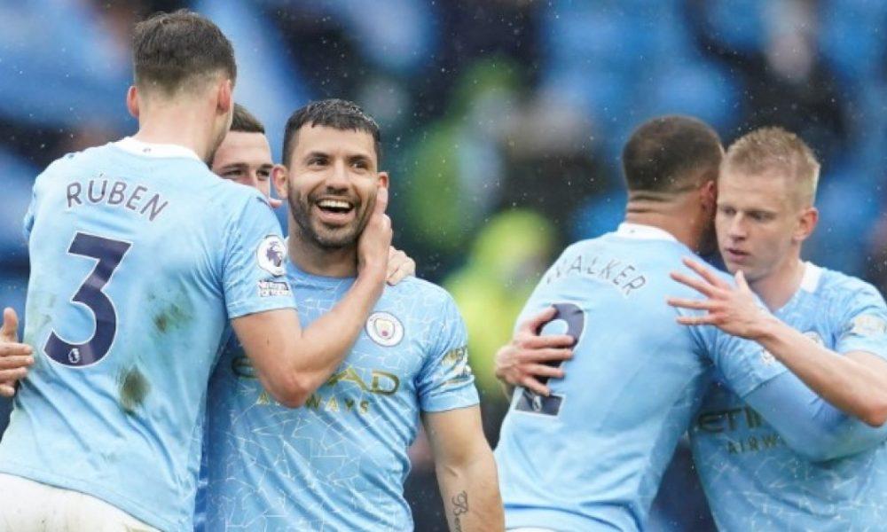 El Manchester City brinda su despedida a Sergio Agüero