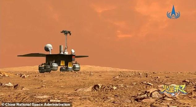 China está lista para aterrizar su rover Zhurong en Marte el viernes para su primera misión interplanetaria que lo convertirá en el tercer país en aterrizar en el Planeta Rojo.