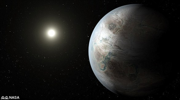 Kepler-452b, apodado 'Tierra 2.0', comparte muchas características con nuestro planeta a pesar de estar a 1.400 años luz de distancia.  Fue encontrado por el telescopio Kepler de la NASA en 2014.