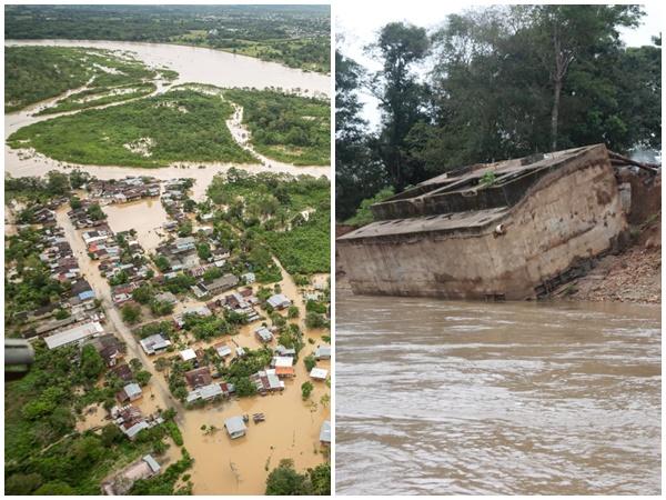 Emergencia en Putumayo: creciente del río afectó varias veredas y arrasó la planta de acueducto
