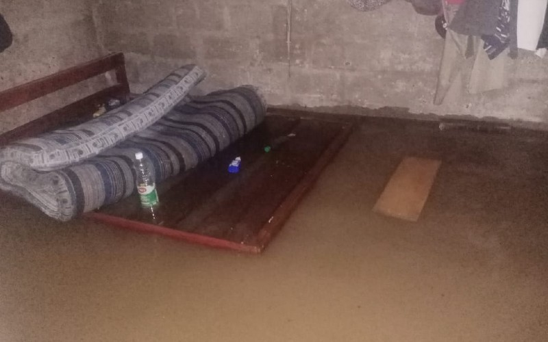 Emergencia en el Municipio del Medio Baudó, por desbordamiento de los ríos Pepé, Berreberre y Curundó.