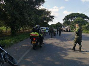 En Yotoco también se han presentado disturbios, Alcaldía y estación de Policía habrían sido atacadas