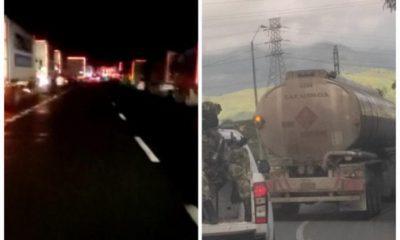 mercancía carreteras Valle paro nacional