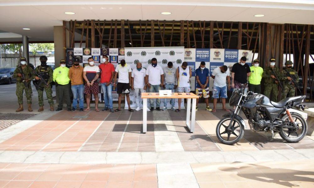 Fiscalía desarticuló la banda delincuencial 'San Roque', presuntos, responsables de hurtos y otros delitos en Cartagena