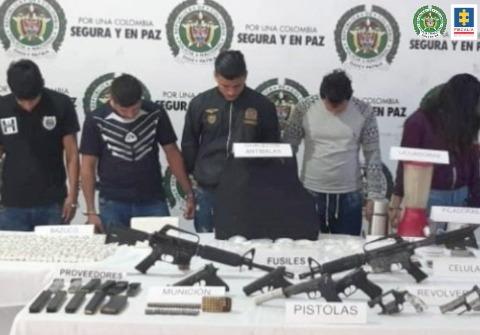 Fiscalía logra condena a más de 5 años contra un hombre que admitió haber delinquido para la banda Los Paisas
