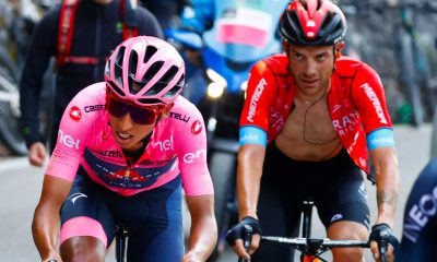 Giro de Italia Egan Bernal: a cuánto quedó de Caruso antes de la crono