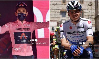 Giro de Italia Egan Bernal y la diferencia que le sacó a Evenepoel