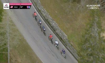 Giro de Italia, etapa 20: Caruso lanzó ataque y puso nervioso a Egan