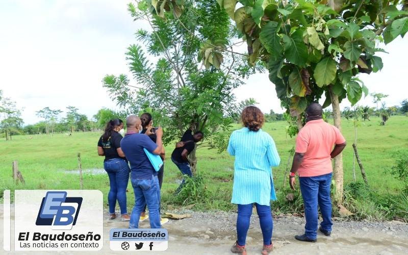 Gobierno departamental dando cumplimiento a los acuerdos con el comité de paro, realiza inspección al terreno donde será construido el hospital de mediana complejidad en la zona del Darién chocoano.
