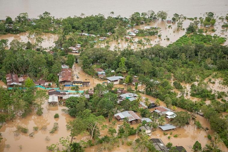 Graves afectaciones deja el invierno en zonas de ribera del río Putumayo