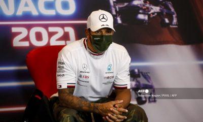 Hamilton se lamenta tras el resultado de la 'Pole' del Gran Premio