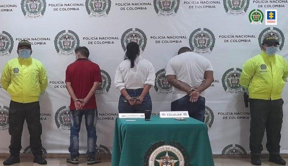 Impactada organización delincuencial 'Los Rápidos' dedicada a hurtar pertenencias de personas mayores