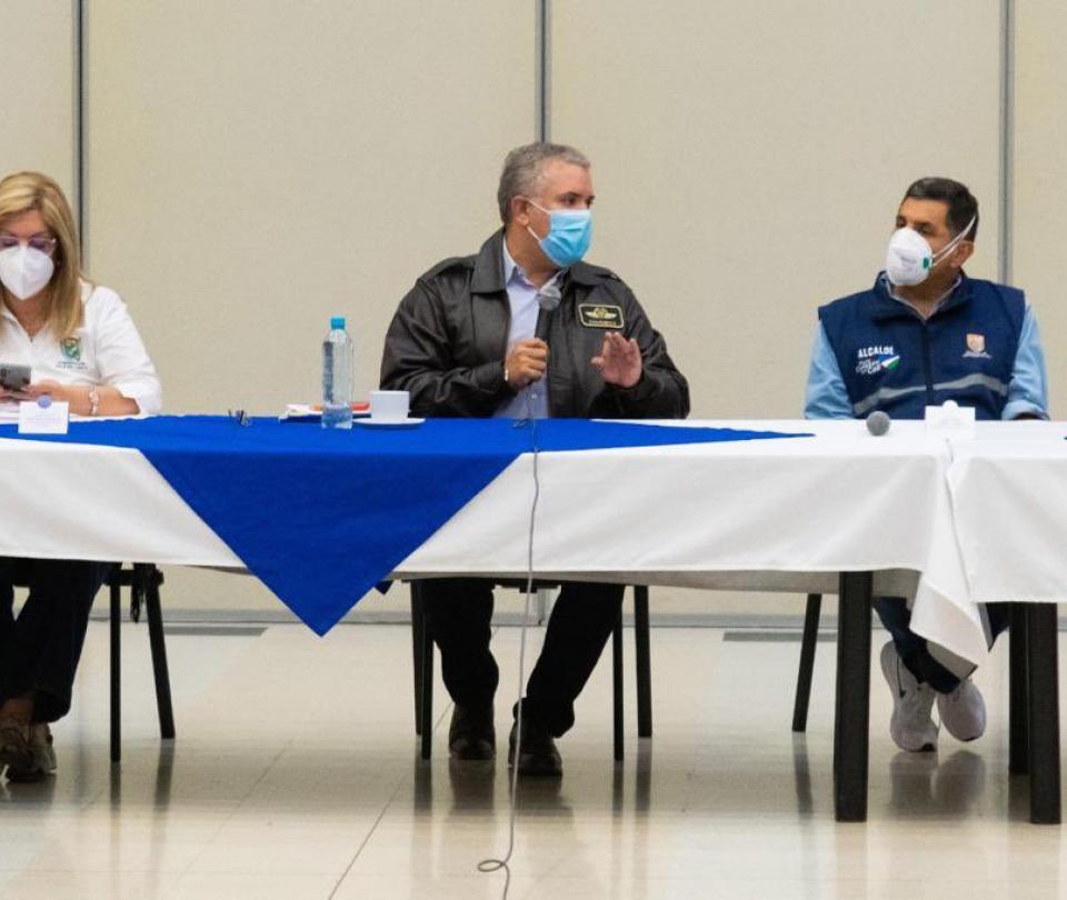 Ivan Duque presidió consejo de seguridad en Cali hoy   10 mayo 2021   Gobierno   Economía