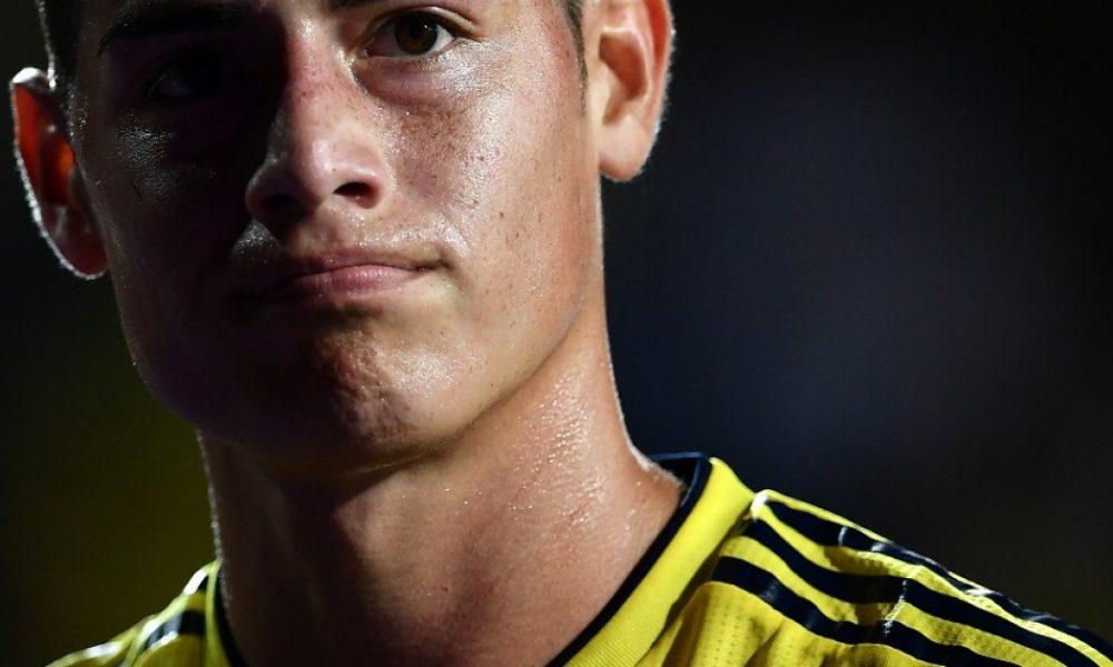 James Rodríguez, desconvocado de la Selección Colombia para Eliminatoria