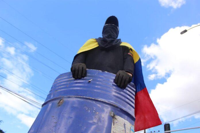 Jóvenes de Villavicencio se han manifestado por iniciativa propia