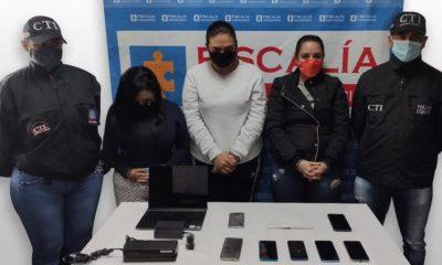 Judicializadas 'Las Asesoras', al parecer implicadas en hurto a través de medios informáticos