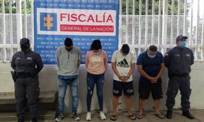Judicializados cuatro presuntos integrantes del grupo delincuencial El Gordo en Bucaramanga