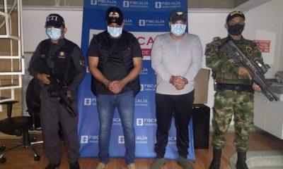 Judicializados dos hombres que se encontraban en el cartel de los más buscados por la Policía Nacional en Villavicencio