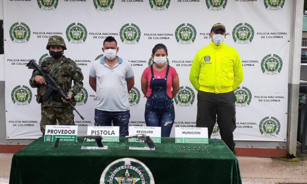 Judicializados dos presuntos integrantes de las disidencias de las Farc