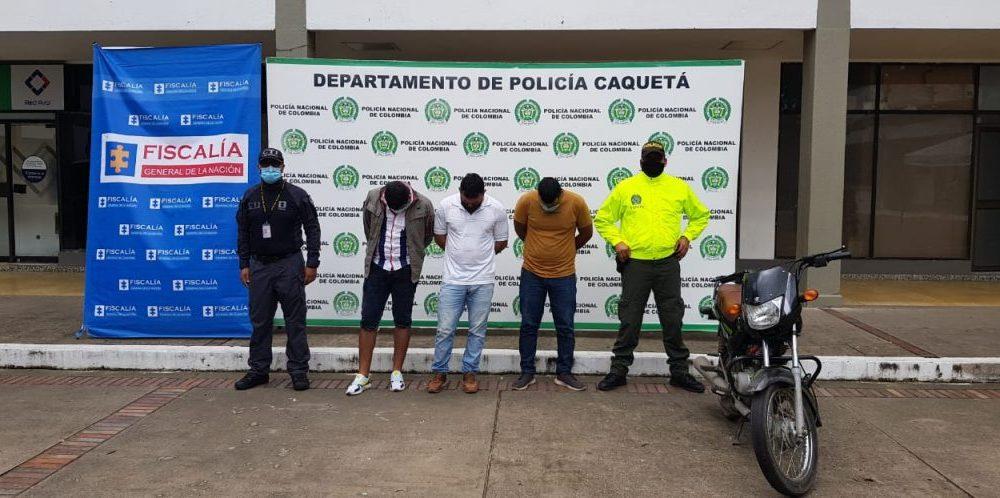 Judicializados los presuntos responsables del homicidio del exgobernador de Caquetá, Germán Medina Triviño