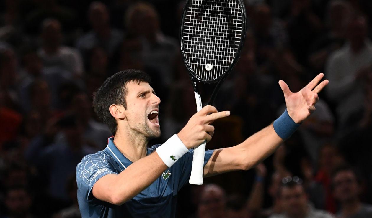 """""""Jugar en un estadio vacío del Roland Garros da tristeza"""" Djokovic"""