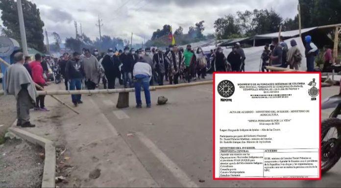 La 'crisis política' con las comunidades indígenas en Ipiales, el paso fronterizo más importante entre Ecuador y Colombia