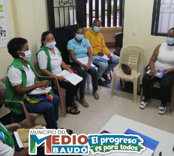 La administración municipal del Medio Baudó a través del programa adulto mayor, realizó inducción al talento humano.