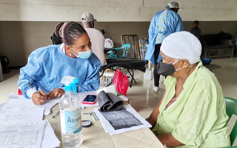 La administración municipal del Rio Iró, a través de Serví Salud Chocó IPS, realiza exitosa jornada integral de salud.
