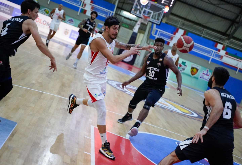 Liga de Baloncesto Colombiano: Titanes derrotó a Cafeteros