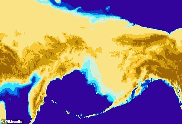 Esto fue como resultado del movimiento a través del Puente Terrestre del Estrecho de Bering, según los científicos de la Universidad de California.