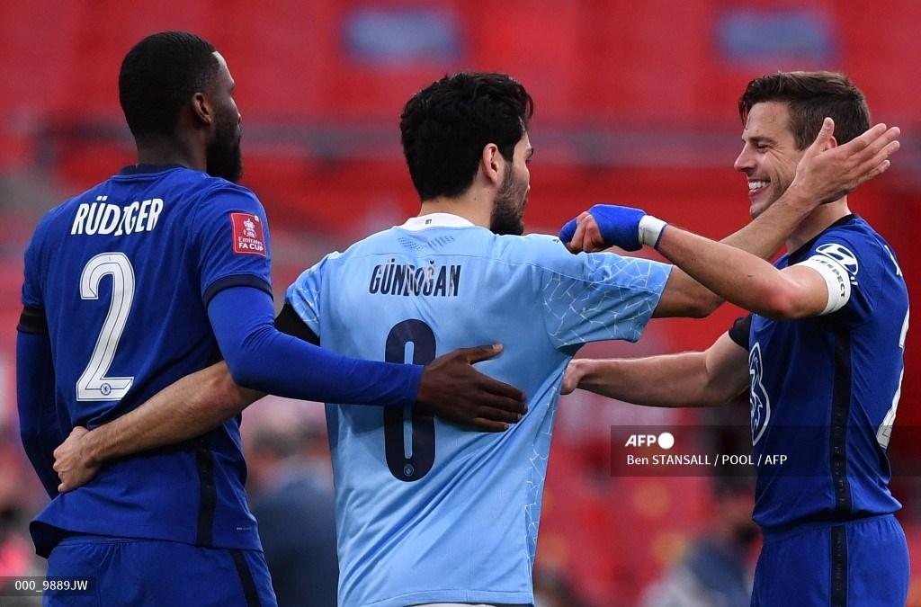 Manchester City vs Chelsea, final Champions: Gundogan duda por lesión