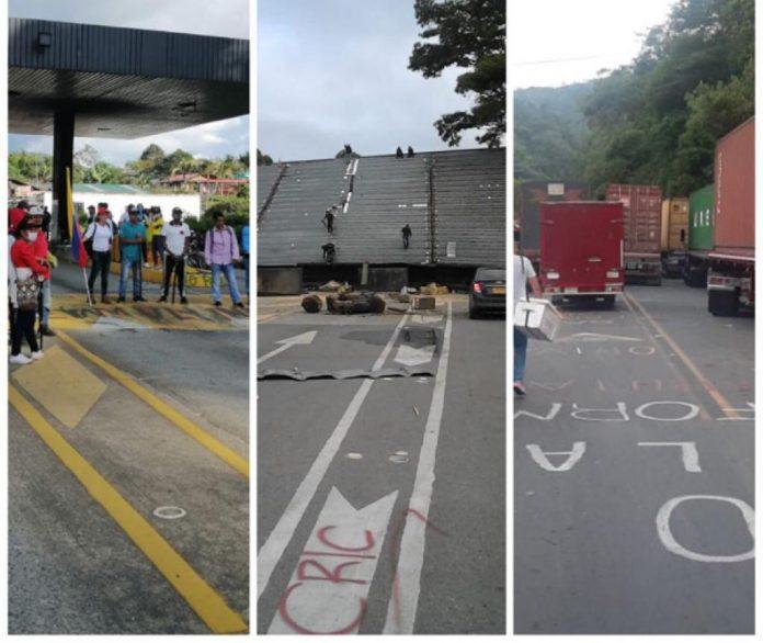 """""""Quienes insistan en bloquear vías serán capturados"""", ministro Molano tras ordenar el despeje de las carreteras"""