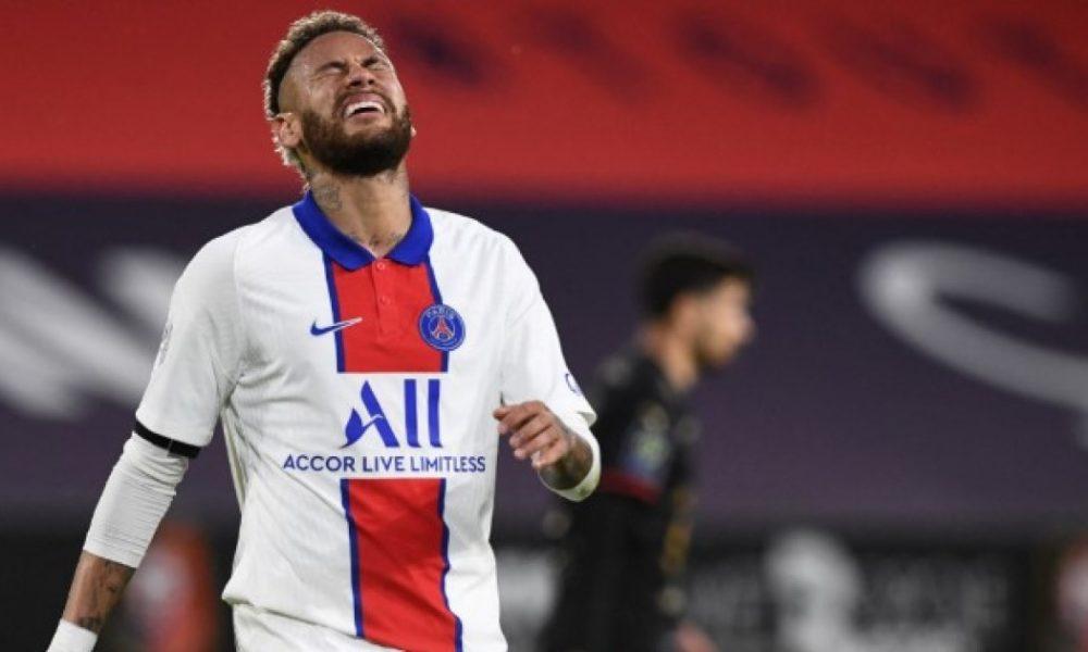 Neymar es suspendido para la final de la Copa de Francia