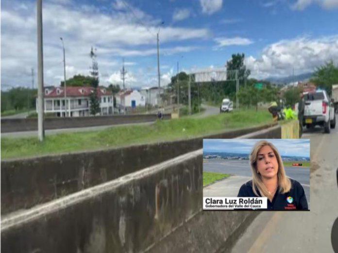 bloqueos valle del Cauca panamericana