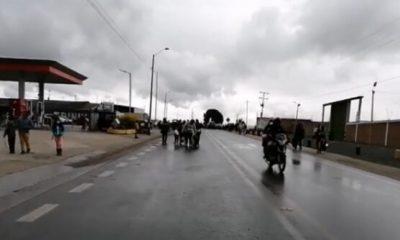 Nuevamente cerrada la vía Panamericana Ipiales – Pasto