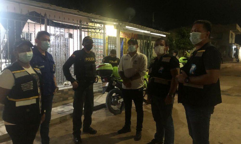 Nueve fiestas fueron intervenidas durante el fin de semana en la ciudad de Riohacha