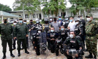 Pacto de reconciliación entre jóvenes manifestantes y el ESMAD