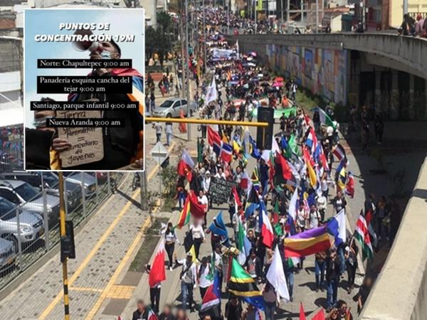 Pasto no tiene bloqueos pero este 19 de mayo sí habrán marchas y concentraciones