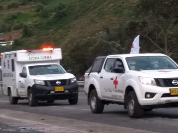 Por medio de corredor humanitario permitieron el paso de combustible y medicina a Nariño