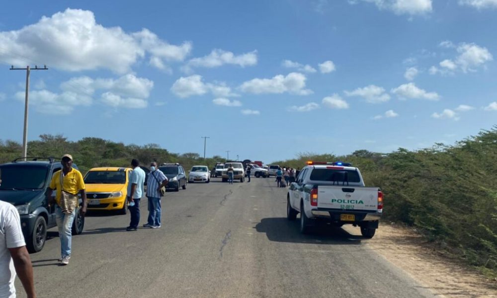 Protesta de comunidades wayuú contra contaminación: bloquearon la vía Riohacha – Valledurar