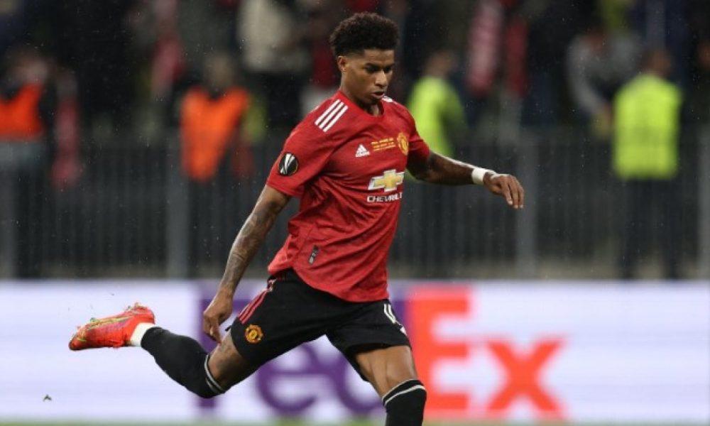 Rashford, jugador del Manchester United, víctima de racismo en redes tras perder con Villarreal