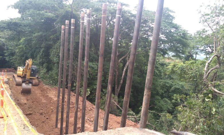 Reconstrucción de la vía a Támara