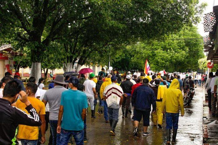 """Se confirma """"Paro Cívico"""" por 8 días en el Departamento de Arauca"""