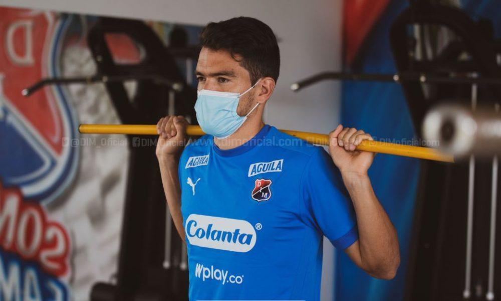 """Sebastián Hernández: """"Estoy feliz volver al DIM; sé la exigencia que tiene"""""""